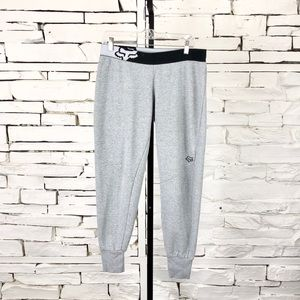Fox Racing Pull On Joggers Gray Medium 1701
